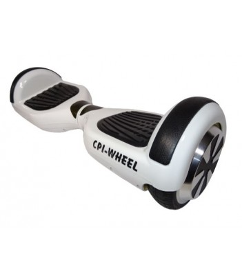 "Patinete eléctrico BLANCO 6"" BLUETOOTH + APP CPI-Wheel"
