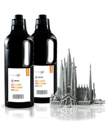 Model resina 3D 1 KG gris Precision 1.5
