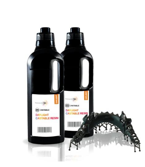 Dental Cast resina 3D 1 KG  Quarzo Precision 1.5
