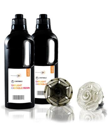 Castable resina 3D 1 KG negra HI-RES 2