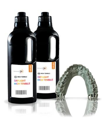 High Tensile resina 3D 1 KG   Gris HI-RES 2