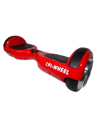 "Patinete eléctrico ROJO 6"" BLUETOOTH + APP CPI-Wheel"