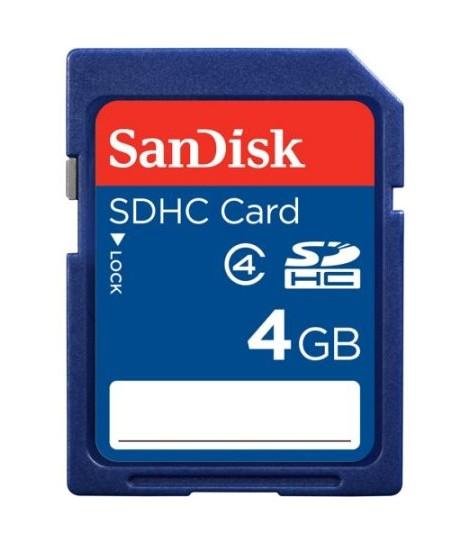 SD-card - 4 GB