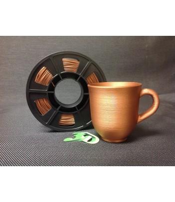 filamento  PLA  COPPER METALICO 3DCPI
