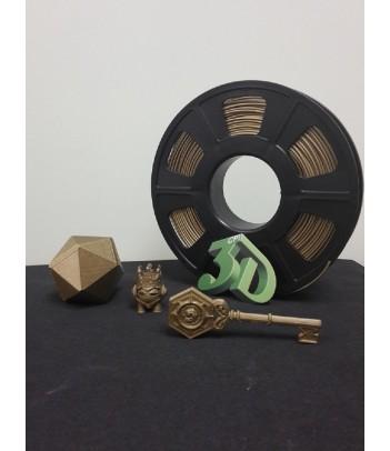 filamento  PLA BRONCE  METALICO 3DCPI