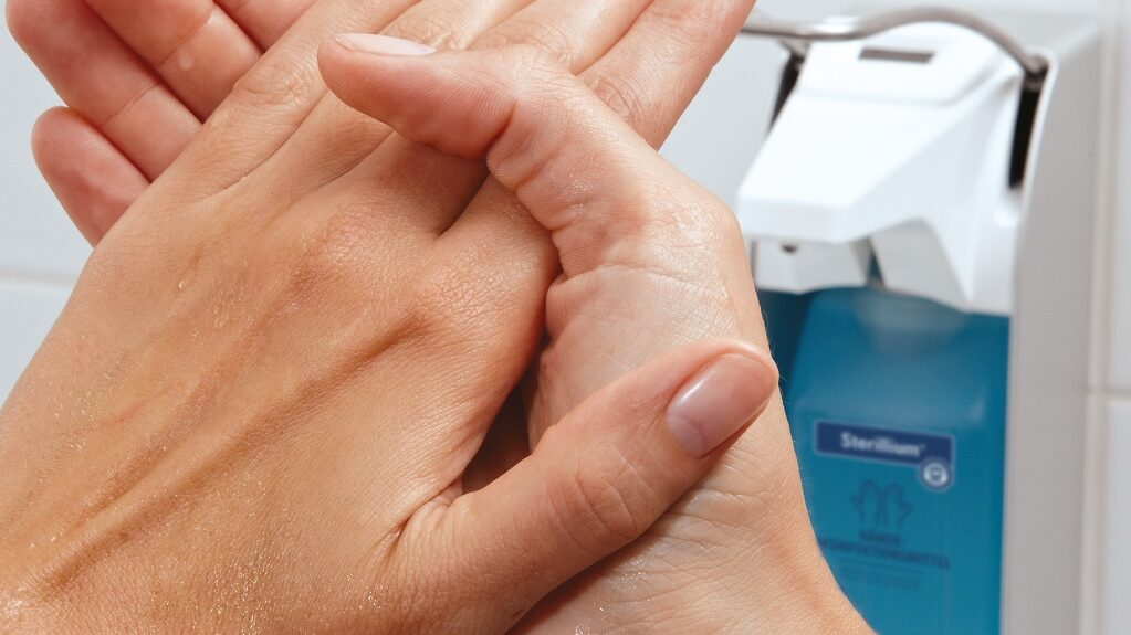 WASHING HANDS