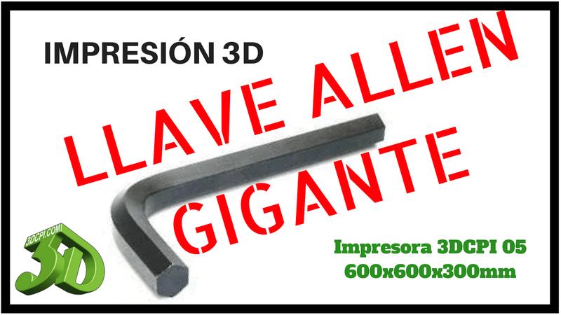 Impresión 3D de gran formato